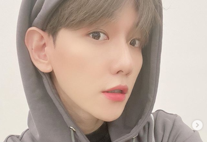 Cute Selfie Parade Up To The Ears Where Was Exo Baekhyun On A