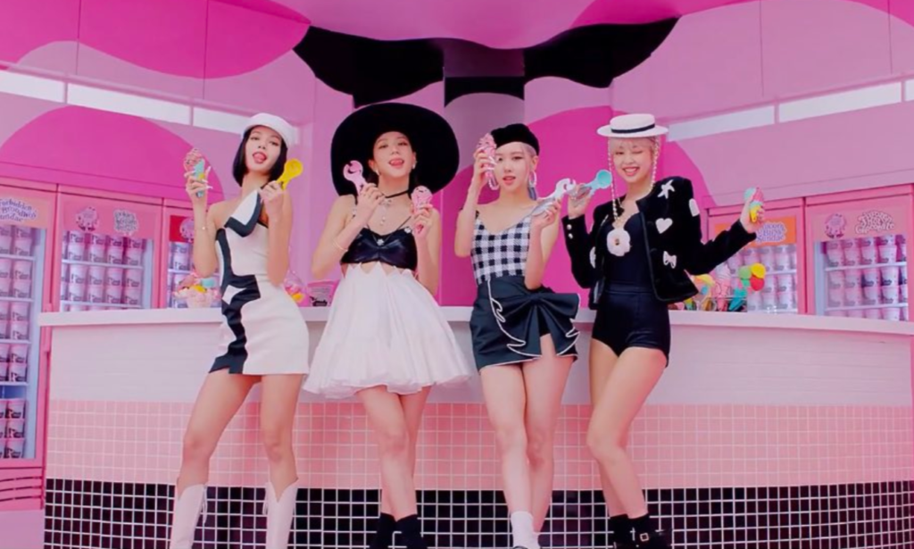 Mv Of Blackpink And Selena Gomez S Collaboration Song Ice Cream Released Focus On The Costumes And Hairstyles That Are Too Cute Nomnomkiyow