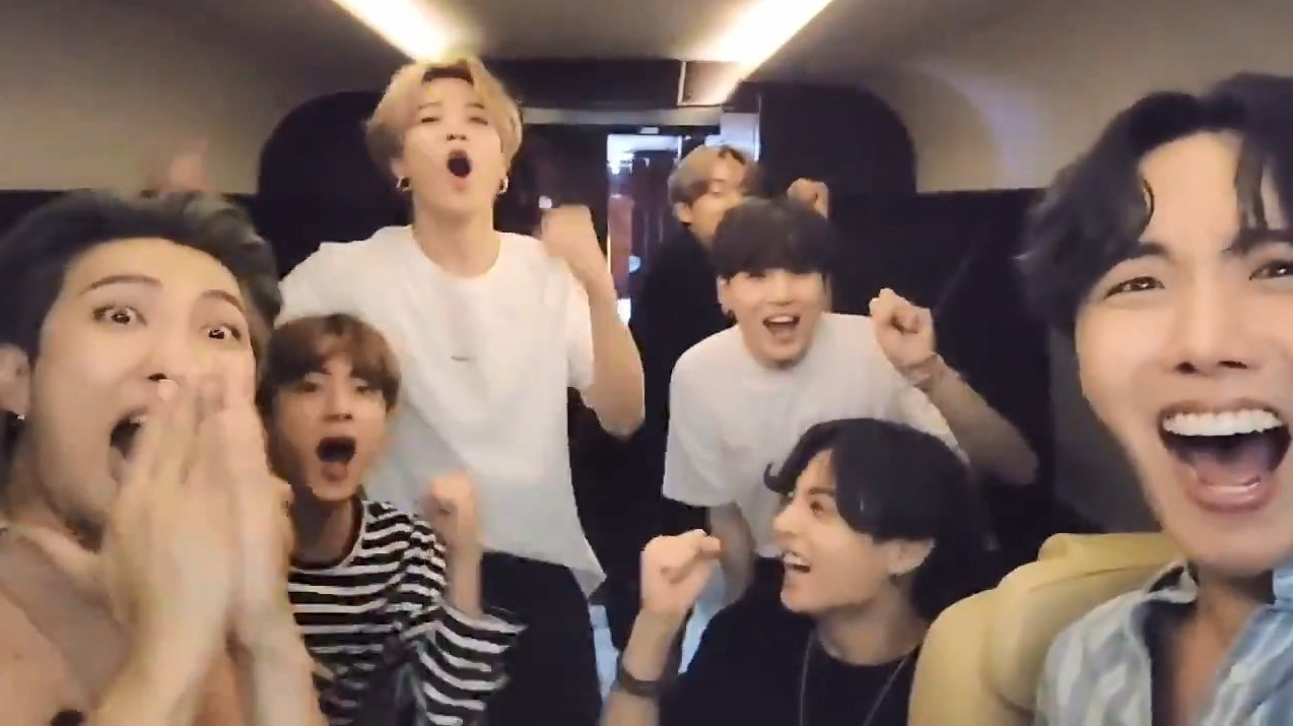 BTS wins 200st place for 20 consecutive weeks on