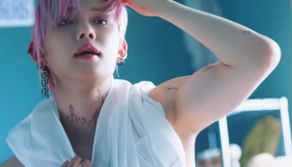 """TXT Yeonjun's tattoo is a hot topic! """"We Lost The Summer"""" teaser released  !!   nomnomkiyow"""